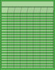 Vertical Chart - Green