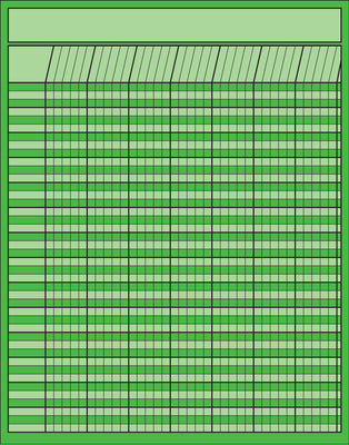 Vertical Chart - Green - Creative Shapes Etc.