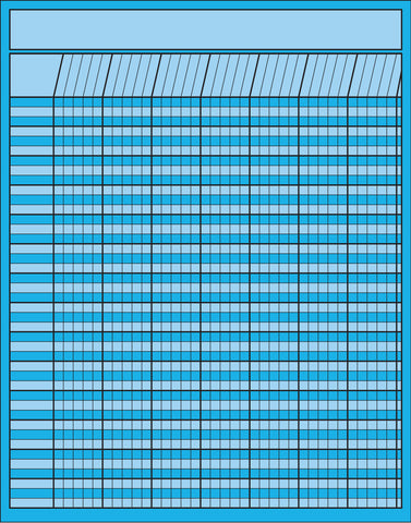 Picture of Vertical Chart - Blue