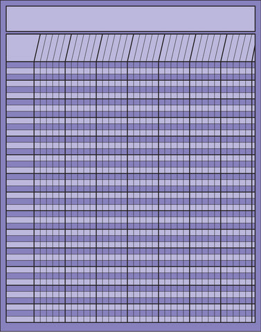 Picture of Vertical Chart - Lavender