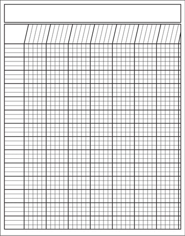 Picture of Vertical Chart - White