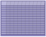 Picture of Horizontal Chart - Lavender
