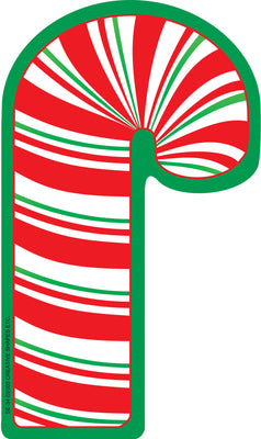 Large Notepad - Candy Cane