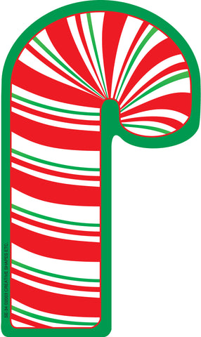 Picture of Large Notepad - Candy Cane