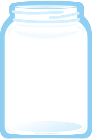Picture of Large Notepad - Jar