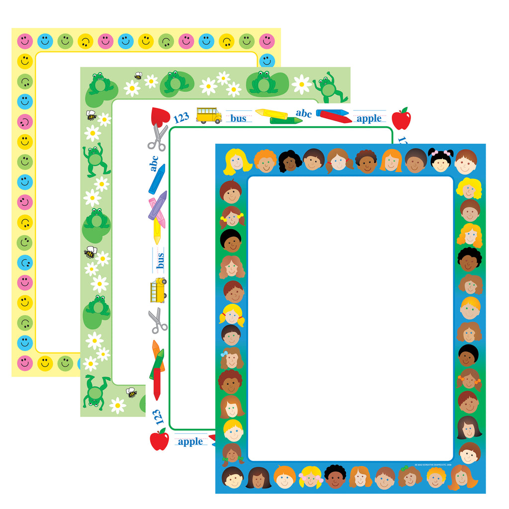 Computer Paper Set - Teachers Delight - Creative Shapes Etc.