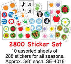 Incentive Sticker Set- 2800 (SE-4018)