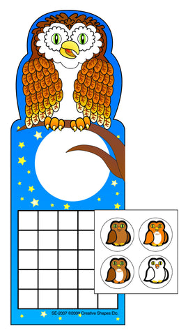 Picture of Incentive Sticker Set - Owl
