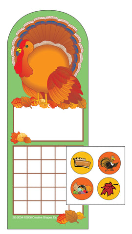 Picture of Turkey Incentive Sticker Set