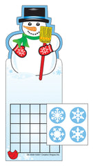 Incentive Sticker Set - Snowman