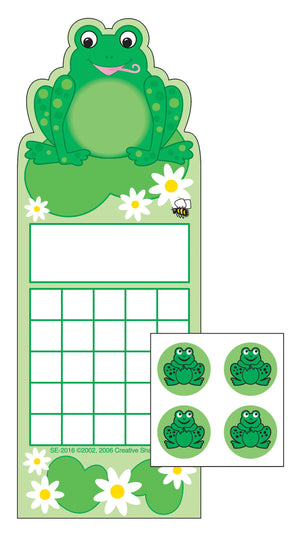Incentive Sticker Set - Frog - Creative Shapes Etc.