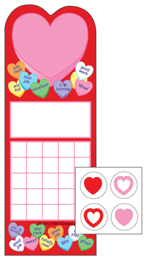 Incentive Sticker Set - Heart - Creative Shapes Etc.