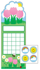 Spring Flowers Incentive Sticker Set