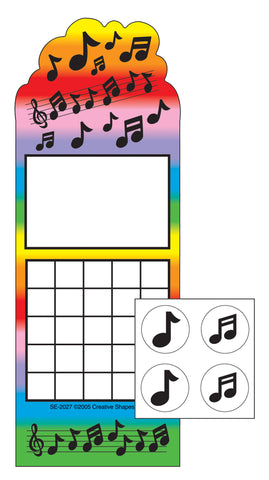 Picture of Incentive Sticker Set - Music