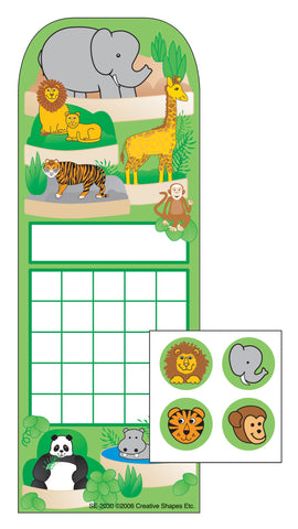 Picture of Incentive Sticker Set - Zoo