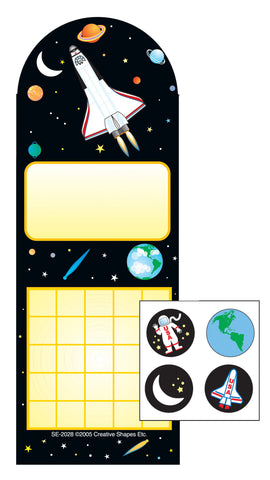 Picture of Incentive Sticker Set - Space