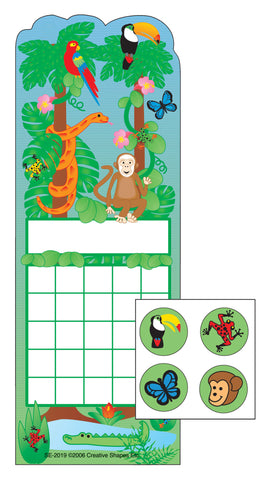Picture of Incentive Sticker Set - Rainforest