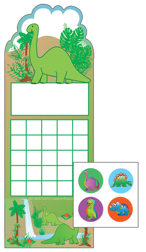 Incentive Sticker Set - Dinosaur - Creative Shapes Etc.