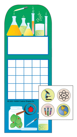 Picture of Incentive Sticker Set - Science Lab