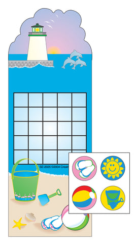 Picture of Incentive Sticker Set - Beach