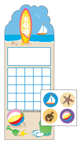 Picture of Incentive Sticker Set - Surf's Up