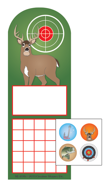 Incentive Sticker Set - Deer - Creative Shapes Etc.