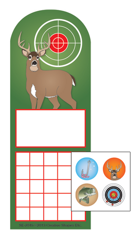Picture of Incentive Sticker Set - Deer