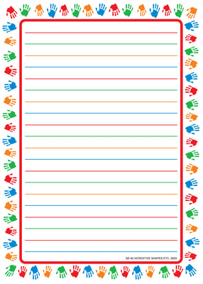 Large Notepad - Hands/Lined