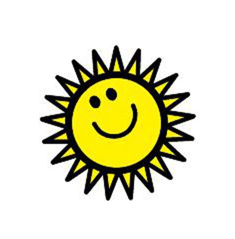 Picture of Incentive Stamp - Sunny Face