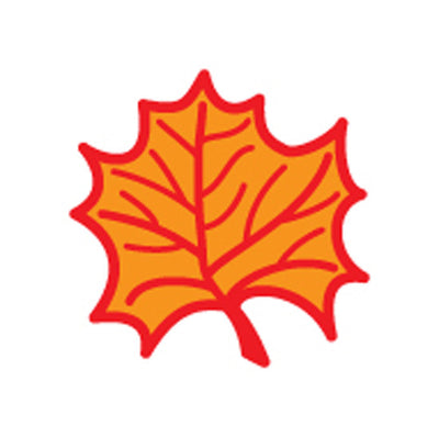 Incentive Stamp - Maple Leaf - Creative Shapes Etc.