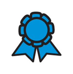 Incentive Stamp - Blue Ribbon