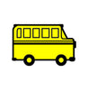 Incentive Stamp - Bus - Creative Shapes Etc.