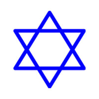Incentive Stamp - Star of David - Creative Shapes Etc.