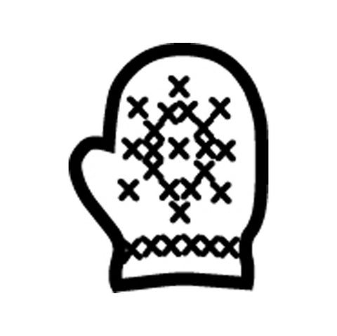 Picture of Incentive Stamp - Mitten