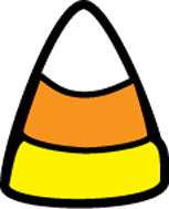 Incentive Stamp - Candy Corn - Creative Shapes Etc.