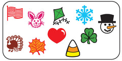 Incentive Stamp Set - Seasonal