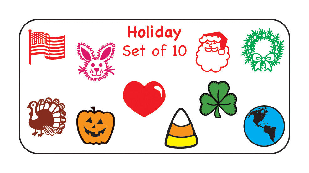 Incentive Stamp - Holiday Set - Creative Shapes Etc.