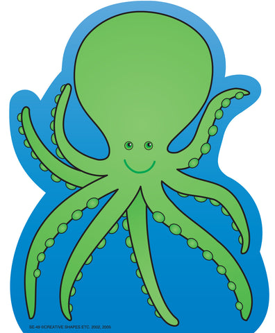 Picture of Large Notepad - Octopus