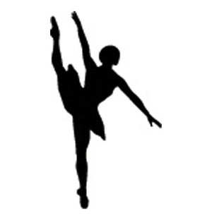 Incentive Stamp - Ballet Dancer - Creative Shapes Etc.