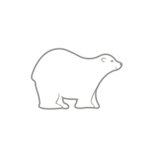 Incentive Stamp - Polar Bear - Creative Shapes Etc.