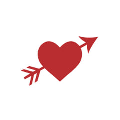 Incentive Stamp - Heart and Arrow