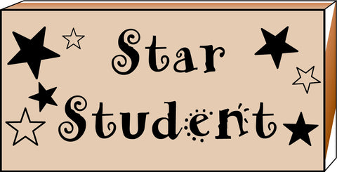 Picture of Teacher's Stamp - Star Student