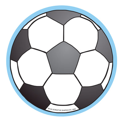 Large Notepad - Soccerball - Creative Shapes Etc.