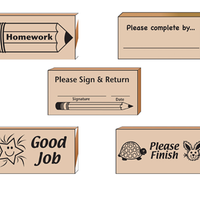Teacher's Helper Stamp Set