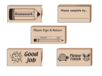 Teacher's Helper Stamp Set - Creative Shapes Etc.