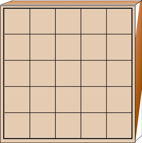 Picture of Jumbo Stamp - 5 Day Grid