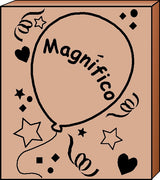 Teacher's Stamp Spanish - Magnifico (Terrific) - Creative Shapes Etc.