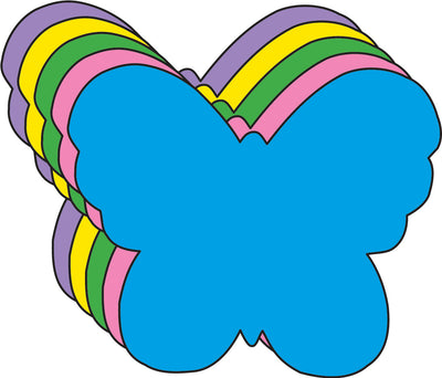 Butterfly Assorted Color Creative Cut-Outs- 3