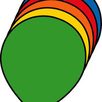 Balloon Assorted Color Creative Cut-Outs - Creative Shapes Etc.