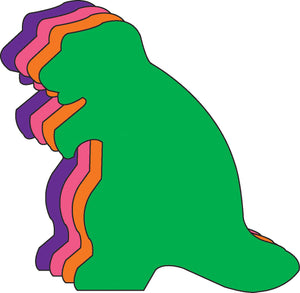 "Dinosaur Assorted Color Creative Cut-Outs- 3"" - Creative Shapes Etc."